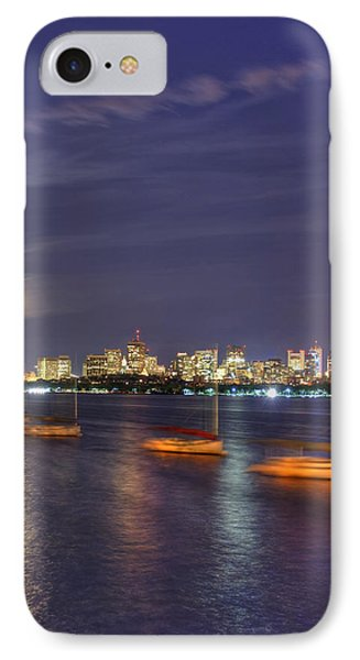 Boston Skyline From Memorial Drive IPhone Case