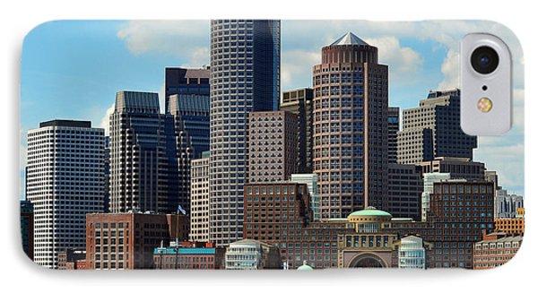 IPhone Case featuring the photograph Boston Skyline by Randi Grace Nilsberg