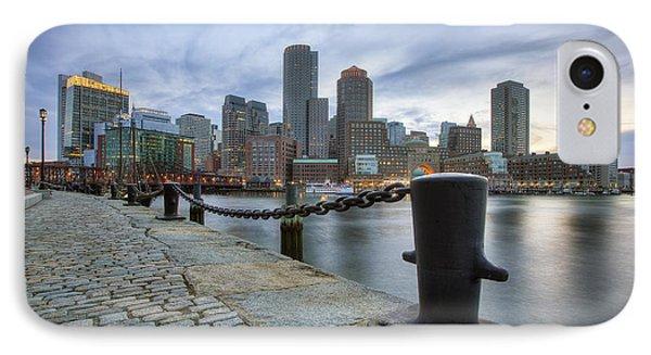 Boston Skyline Sunset IPhone Case