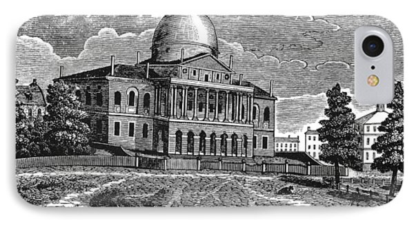 Boston State House, 1817 IPhone Case