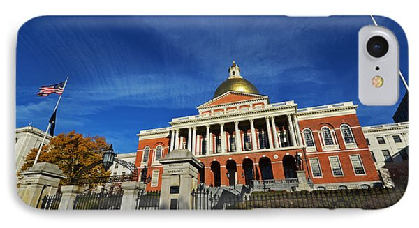 Boston State House IPhone Case by Toby McGuire