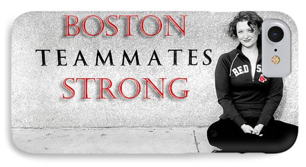 Boston Strong Phone Case by Greg Fortier
