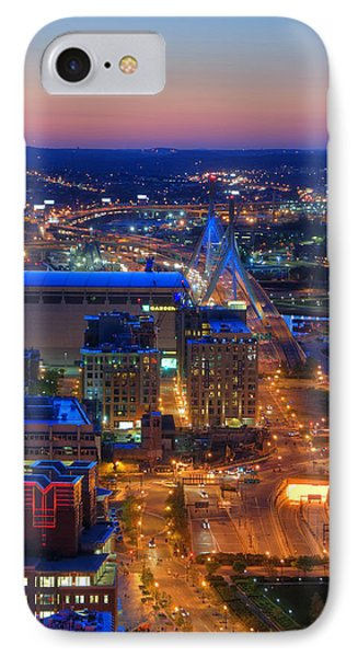 Boston Sunset Aerial View IPhone Case
