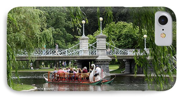 Boston Swan Boat IPhone Case by Christiane Schulze Art And Photography