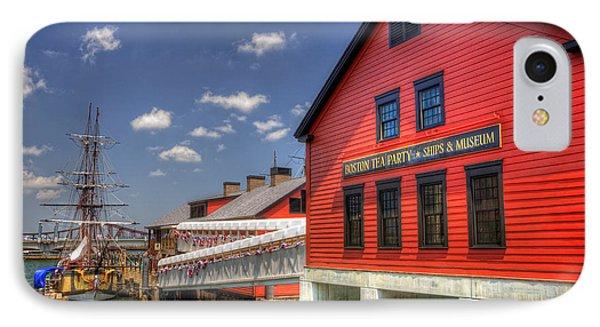 Boston Tea Party Museum 3 IPhone Case