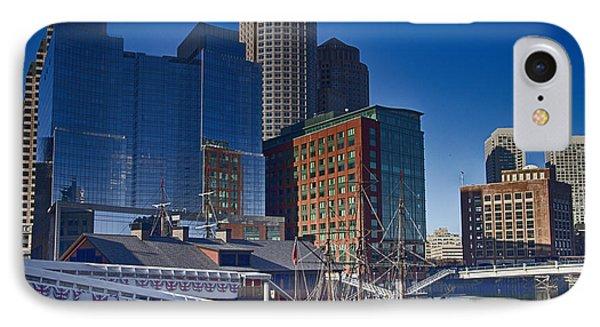 Boston-teaparty IPhone Case by Douglas Barnard