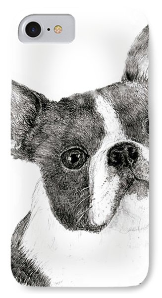 Boston Terrier IPhone Case