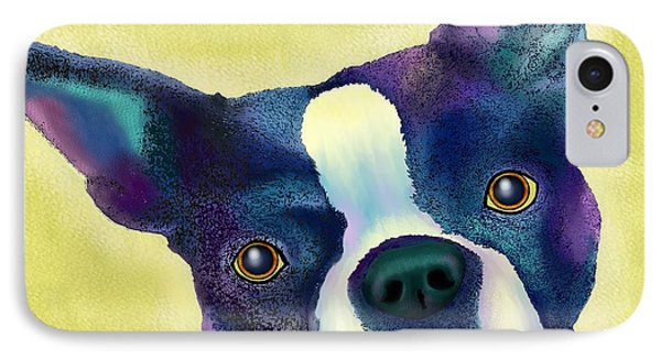 Boston Terrier IPhone Case by Marlene Watson