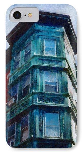 Boston's North End Phone Case by Jeff Kolker