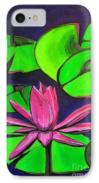 Botanical Lotus 1 Phone Case by Grace Liberator