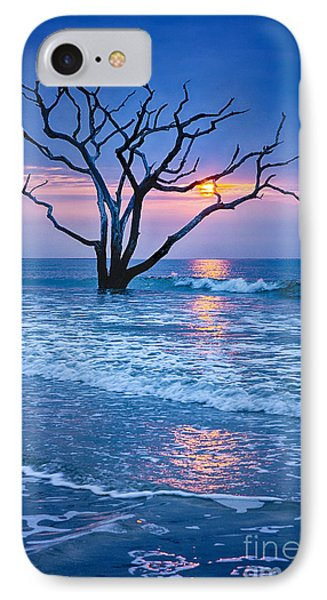 Botany Bay Sunrise 2 IPhone Case by Carrie Cranwill