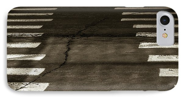 IPhone Case featuring the photograph Both Ways - Urban Abstracts by Steven Milner