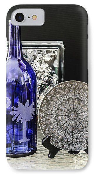 Bottle And Plate IPhone Case