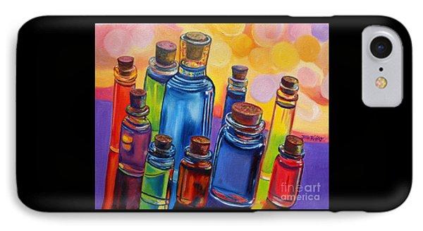 Bottled Rainbow IPhone Case by Julie Brugh Riffey