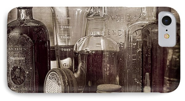 Bottles And Tins IPhone Case by Wayne Meyer