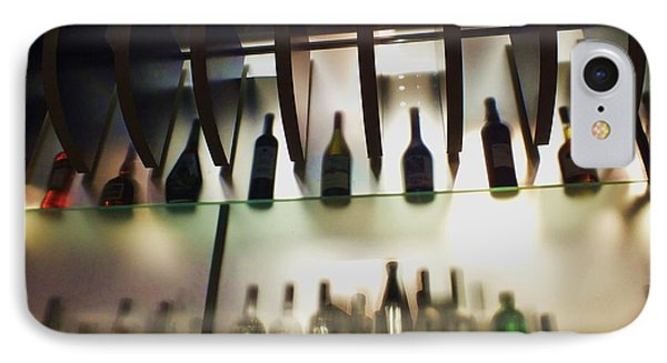 Bottles At The Bar Phone Case by Anna Villarreal Garbis