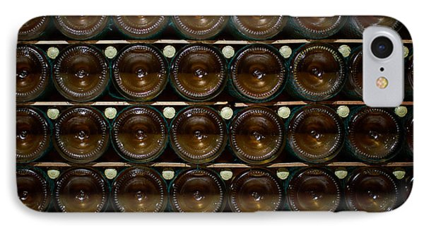 Bottles. Ca Del Bosco Winery. Franciacorta Docg IPhone Case by Jouko Lehto