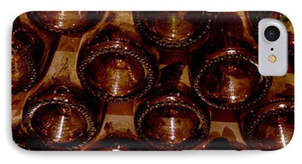 Bottles In The Cellar IPhone Case by Jon Neidert