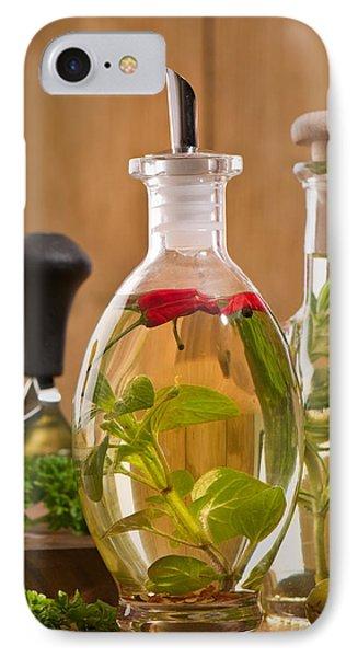 Bottles Of Olive Oil Phone Case by Amanda Elwell
