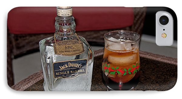 IPhone Case featuring the photograph Jack Daniels - Single Barrel by John Black