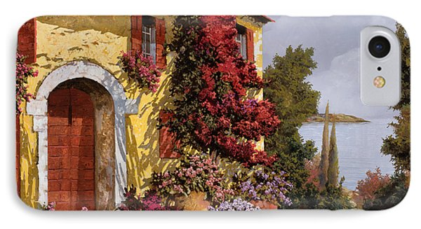 Bouganville IPhone Case by Guido Borelli