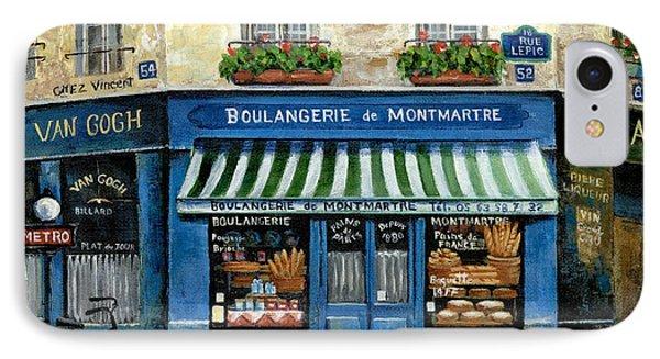 Boulangerie De Montmartre Phone Case by Marilyn Dunlap