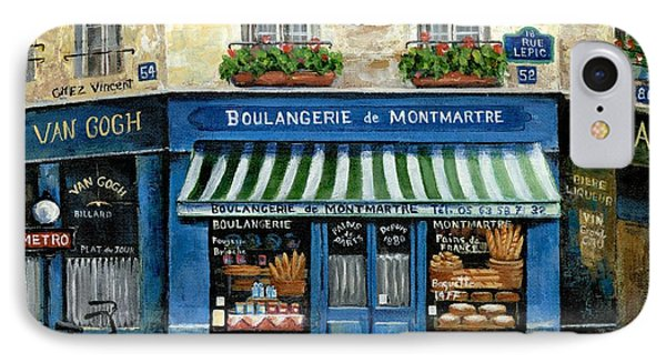 Boulangerie De Montmartre IPhone Case