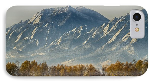 Boulder Colorado Flatirons Autumn View IPhone Case by James BO  Insogna