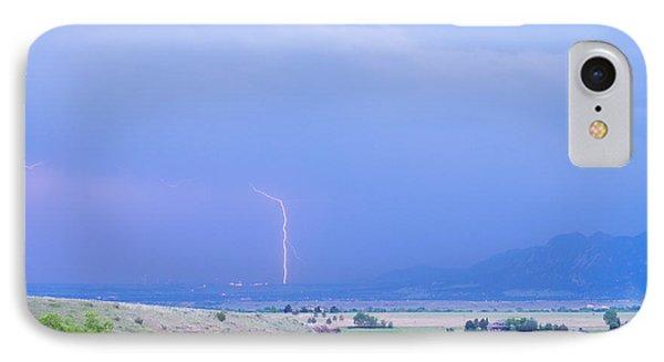 Boulder Colorado Lightning Strike Phone Case by James BO  Insogna