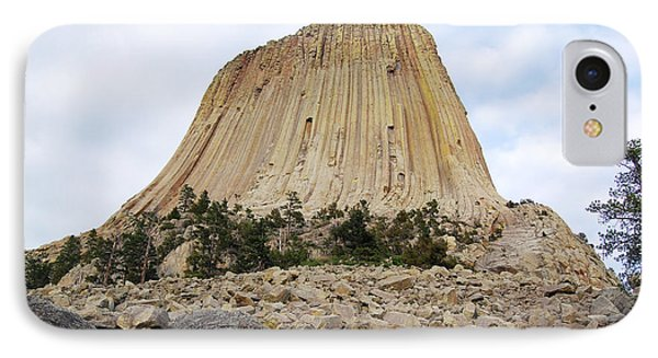 IPhone Case featuring the photograph Boulder Field Beneath Devils Tower National Monument Wyoming Usa by Shawn O'Brien