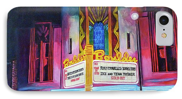 Boulder Theater Phone Case by Tom Roderick
