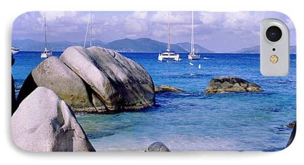 Boulders On A Coast, The Baths, Virgin IPhone Case by Panoramic Images