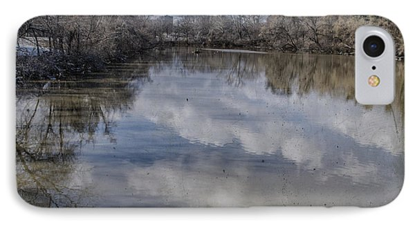 Boundary Channel Reflections Phone Case by Terry Rowe