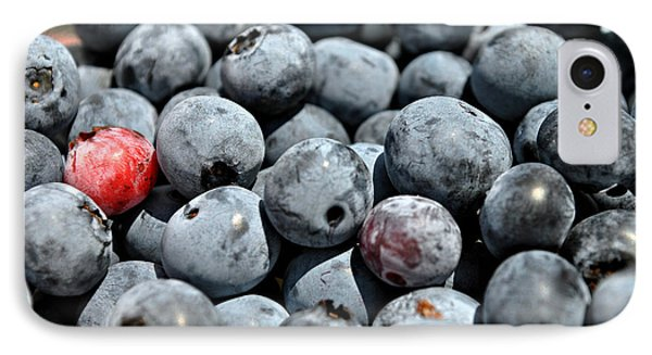 IPhone Case featuring the photograph Bountiful Blueberries by Kelly Nowak