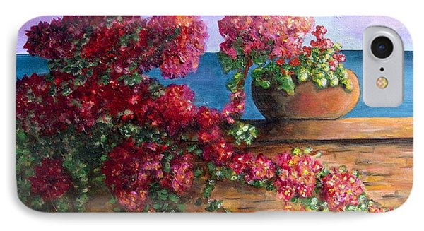 Bountiful Bougainvillea IPhone Case by Laurie Morgan