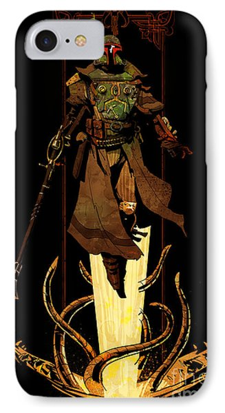 Bounty Hunter Rising IPhone Case by Brian Kesinger