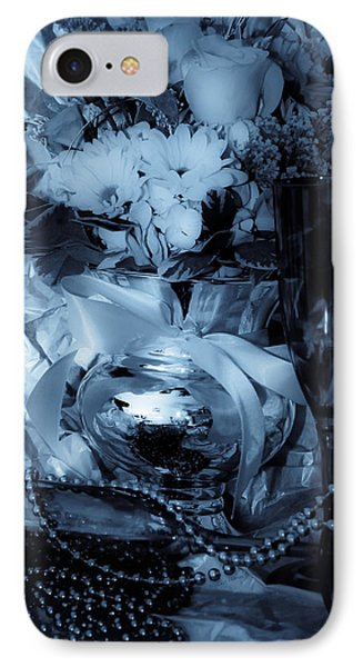Bouquet And Beads Phone Case by DigiArt Diaries by Vicky B Fuller