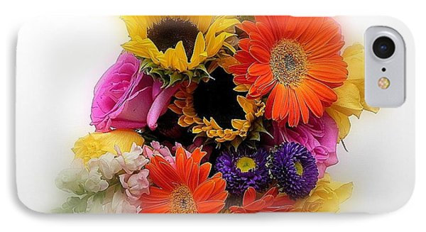 Bouquet Of Color IPhone Case by Peggy Stokes