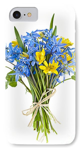Bouquet Of Fresh Spring Flowers Phone Case by Elena Elisseeva