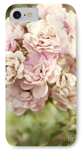 Bouquet Of Vintage Roses IPhone Case by Juli Scalzi