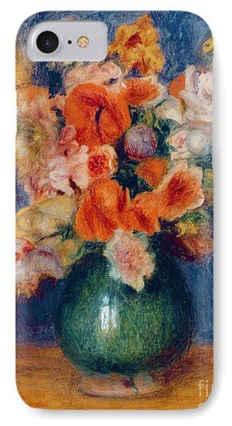 Bouquet IPhone Case by Pierre Auguste Renoir