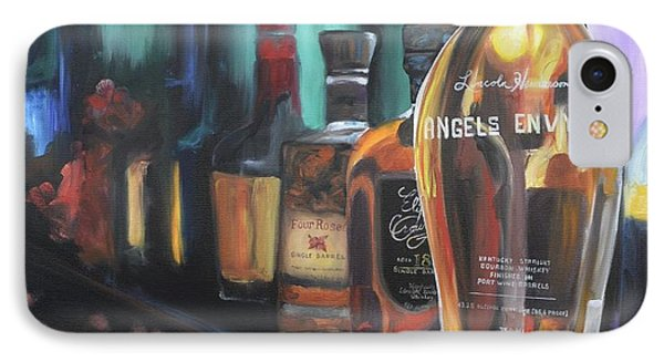 Bourbon Bar IPhone Case by Donna Tuten