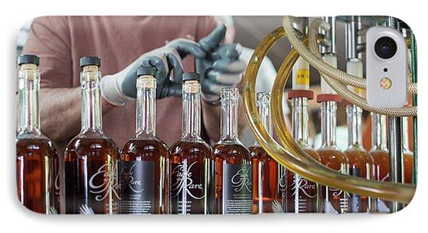 Bourbon Bottling Production Line IPhone Case by Jim West