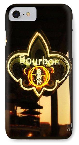 Bourbon Street Bar New Orleans IPhone Case by Saundra Myles
