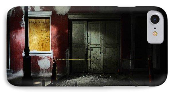 Bourbon Street Cemetery Phone Case by Louis Maistros