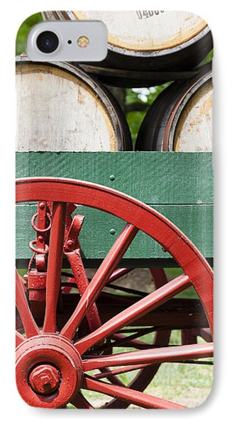 Bourbon Wagon IPhone Case by Alexey Stiop