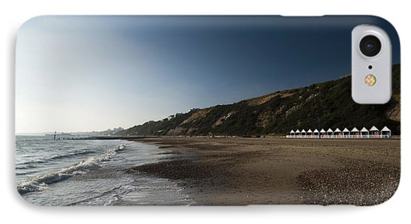 Bournemouth Beach Huts Phone Case by Anne Gilbert