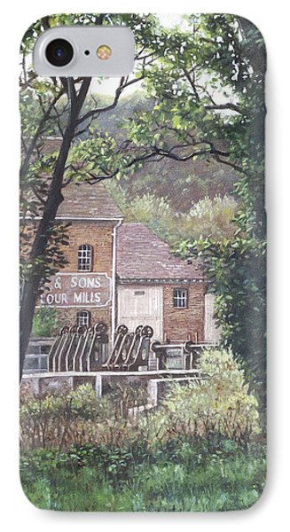 Bournemouth Throop Mill Through Trees Phone Case by Martin Davey