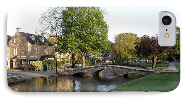 Bourton On The Water 2 IPhone Case by Ron Harpham