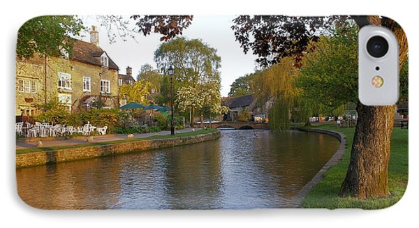 Bourton On The Water 3 IPhone Case by Ron Harpham